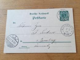 K9 Deutsches Reich Ganzsache Stationery Entier Postal P 36I Von Kurzebrack Nach Bromberg - Germania