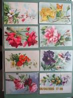 Fantasie Kaart   Bloemen Des Fleurs Nr 42 - Fleurs