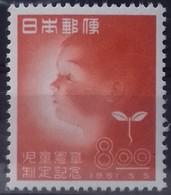 JAPON - JAPAN N° 470 COTE 55 €  NEUFS * MNH 80ème ANNIVERSAIRE DU SERVICE POSTAL EN 1951 TB - Unused Stamps