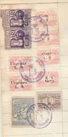 Bari. 1958. Marche Municipali Diritti Di Segreteria + Altre + Erinofilo Municipale PRO BARI L. 20, Su Documento - Italie