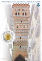 España. Spain. 2020. HB. Patrimonio Mundial. Arquitectura Mudéjar De Aragón - 1931-Heute: 2. Rep. - ... Juan Carlos I