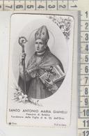 Santini Santino S. Antonio Maria Gianelli Vescovo Di Bobbio Figlie Di M. Ss. Dell'orto 1947 - Devotion Images