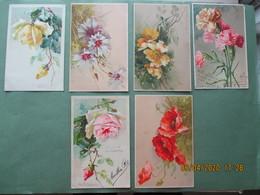 Fantasie Kaart   Bloemen Des Fleurs Nr 44 - Fleurs