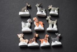 Fèves - Série Complète - Chiens De Race - Animals