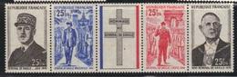 La Réunion 1971 Yvert Bande 403A Neuve** MNH (AB71) - Reunion Island (1852-1975)