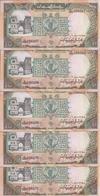 SOUDAN 10 POUNDS 1991 XF+ P 46 ( 5 Billets ) - Soudan