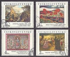 Ceskoslovensko / Czechoslovakia - 1984 National Gallery Prague, Art, Engravings, Paintings, Peintures, Fine Used - Tsjechoslowakije