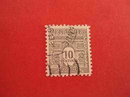 """1944-45  Oblitéré  N°  621    """" Arc De Triomphe, 10c Gris  """"   Net 0.30   Photo   1 - 1944-45 Arco Del Triunfo"""
