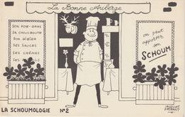 BUVARD - LA BONNE AUBERGE - ILLUSTRATION JACQUES FAIZANT - Buvards, Protège-cahiers Illustrés