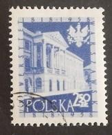"""POLOGNE YT 933 OBLITÉRÉ """"UNIVERSITÉ DE VARSOVIE' ANNÉE 1958 - Usati"""