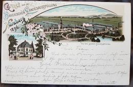 Germany Gruss Aus Nürnberg 1896 - Unclassified