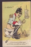 CPA Pot De Chambre Scatologie Billet De Banque Banknote Satirique Caricature Anti Kaiser Germany écrite - Satirische