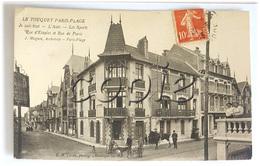 """LE TOUQUET Paris Plage - Rue D'Etaples/Rue De Paris - Villas """"Je Sais Tout, L'Auto.."""" - J.Magnin, Architecte - Le Touquet"""