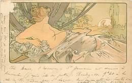 ILLUSTRATEUR MUCHA .Alphonse : L' Aurore (vendu En Etat, Voir Scan) - Mucha, Alphonse