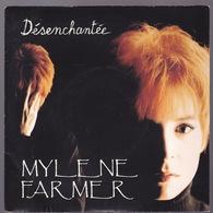 MYLENE FARMER - SP - 45T - Disque Vinyle - Désenchantée - 879924 - Autres - Musique Française