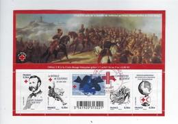F 4386 150ème Anniversaire De La Croix-Rouge Oblitéré 1er Jour 2009 - Usados