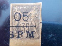 Saint Pierre Et Miquelon N°9 Avec Charniére *  Bord De Feuille Tirage 5250 Ex - St.Pierre Et Miquelon