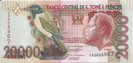 SAO TOME ET PRINCIPE 20000 DOBRAS 2004 UNC P 67 C - Sao Tomé Et Principe