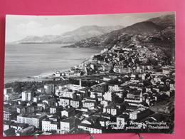 Italie - Ventimiglia - Veduta Parziale E Montecarlo - 1960 - Timbre Taxe - Recto Verso - Imperia