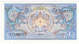 Bhutan P 12 A - 1 Ngultrum 1986 - UNC - Bhutan