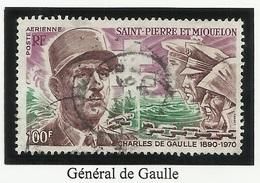 SAINT PIERRE ET MIQUELON SPM PA N° 53 Oblitéré 1972 - Poste Aérienne