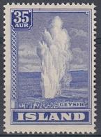+Iceland 1938. Geysir. AFA 196.  MNH(**). - Unused Stamps