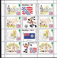 Soccer World Cup 1994 - Football - MONTSERRAT - Sheet MNH - Coupe Du Monde