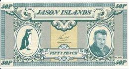JASON ISLANDS 50 PENCE 1979 UNC - Andere - Oceanië