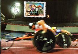 France 3495 Fdc Championnat Du Monde D'athlétisme Handisport Lille - Handisport