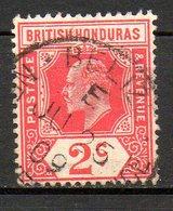 HONDURAS - (Colonie Britannique) - 1906-11 - N° 70 Et 74 - (Lot De 2 Valeurs Différentes) - (Edouard VII Et George V) - Honduras