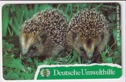 TK 23768 GERMANY - Chip O160B 02.94 4000ex.Deutsche Umwelthilfe - Igel MINT! - Allemagne
