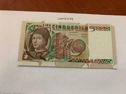 Italy Antonello Da Messina Uncirculated Banknote 5000 Lira 1980 #2 - 5000 Lire