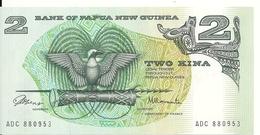 PAPOUASIE NEW GUINEA 2 KINA ND1981 AUNC P 5 A - Papouasie-Nouvelle-Guinée