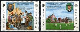 (*) Timbres EUROPA CEPT ILE DE MAN De 1980 N° Y&t 157/158 Neuf(s) ** Mnh LUXE - Europa-CEPT