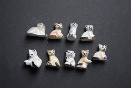 Fèves - Série Complète - Chats - Animals