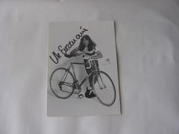 Cyclisme - Autographe - Carte Signée Ute Enzenauer - Cyclisme