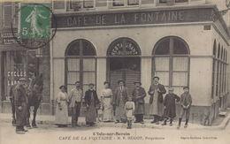 L'Isle Sur Serein : Café De La Fontaine - L'Isle Sur Serein