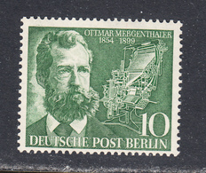 Germany 1954 Official, Mint Mounted, Sc# 9N105 - Neufs