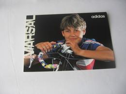 Cyclisme - Autographe - Carte Signée Catherine Marsal - Cyclisme