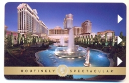 Caesars Palace Hotel & Casino, Las Vegas, Used Magnetic Hotel Room Key Card # Caes-51 - Chiavi Elettroniche Di Alberghi