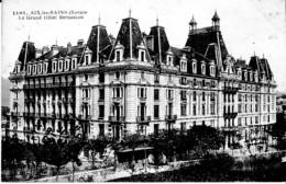 AIX LES BAINS ,GRAND HOTEL BERNASCON  REF 65126 - Hotels & Restaurants