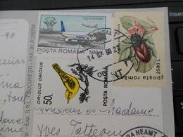 TARIF 3500LEI POUR FRANCE PIATRA NEAMT OPRM 14 JUIL 1998 MOLDOVA SF. MANASTIRE SIHASTRIA - Poststempel (Marcophilie)