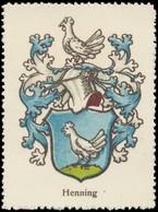 Henning Wappen Reklamemarke - Vignetten (Erinnophilie)