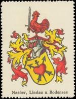 Naeher, Lindau Am Bodensee, Wappen Reklamemarke - Vignetten (Erinnophilie)