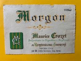 13148 - Morgon 1929 Maurice Crozet - Beaujolais