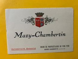 13150 - Mazy-Chambertin - Bourgogne