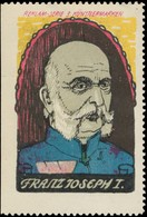 Kaiser Franz Joseph I. Reklamemarke - Cinderellas