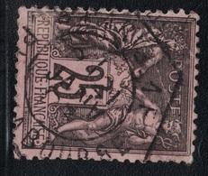 SAGE - N°97 - OBLITERATION -  RECETTE AUXILIAIRE - PARIS 1F PLACE DE LA BOURSE. - Marcophily (detached Stamps)