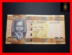 SOUTH SUDAN 25  £ 2011  P. 8  RARE UNC - South Sudan