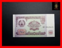 TAJIKISTAN 20 Rubles  1994  P. 4  UNC - Tadzjikistan